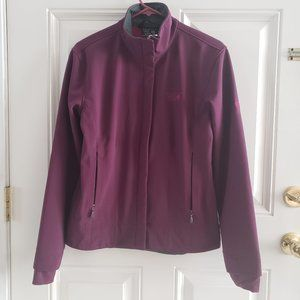 MOUNTAIN HARDWEAR Purple F- Zip W/Thumbhole Jacket